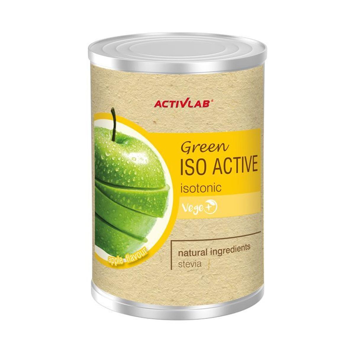 ActivLab Green Isoactive izotonický nápoj 475 g jablko
