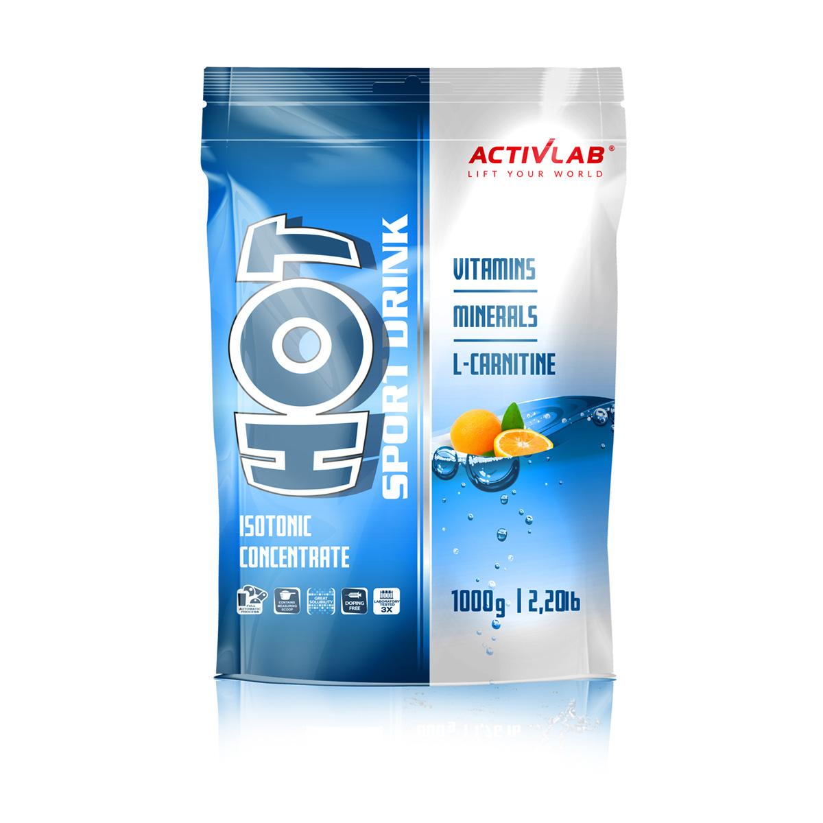 ActivLab HotSport iontový nápoj pomeranč 1000 g