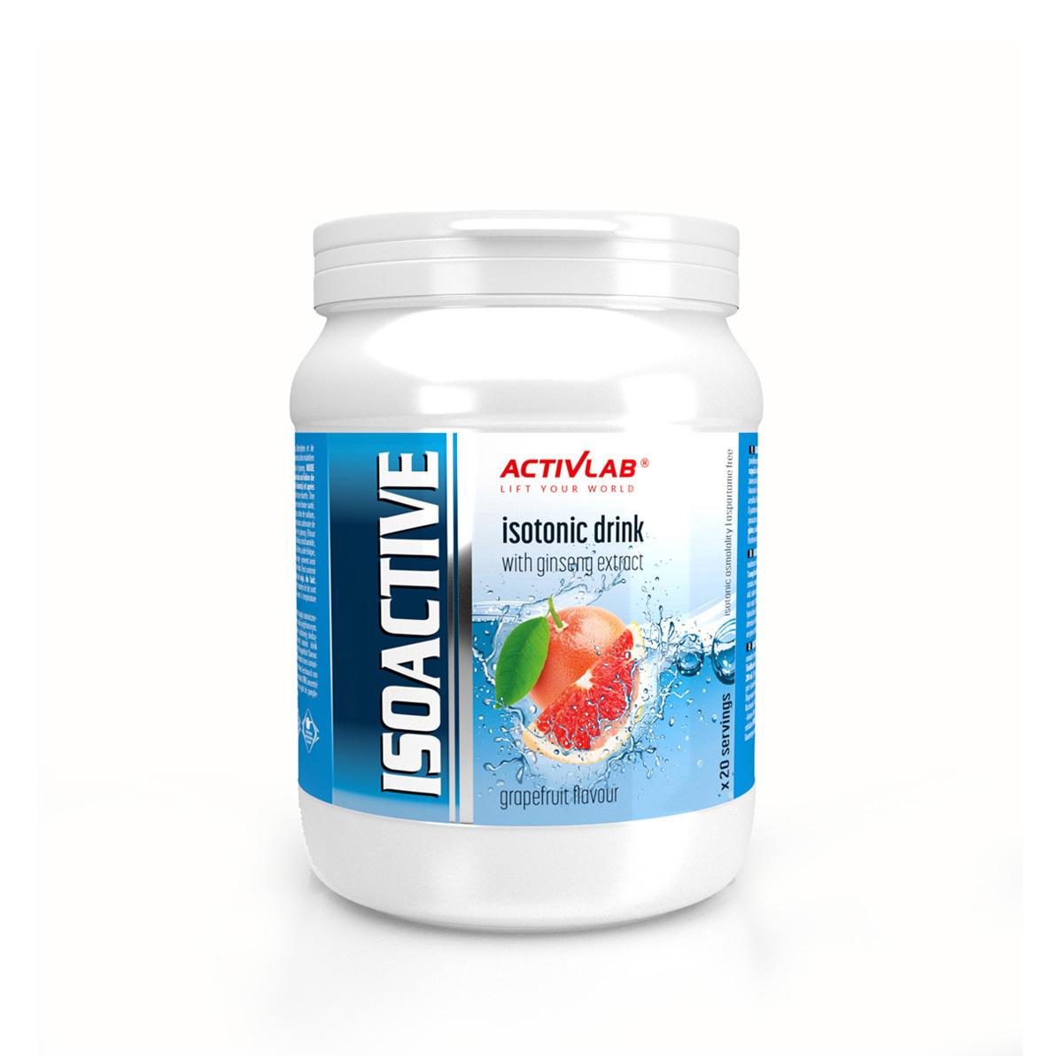 ActivLab Isoactive iontový nápoj s ženšenem 630 g grapefruit