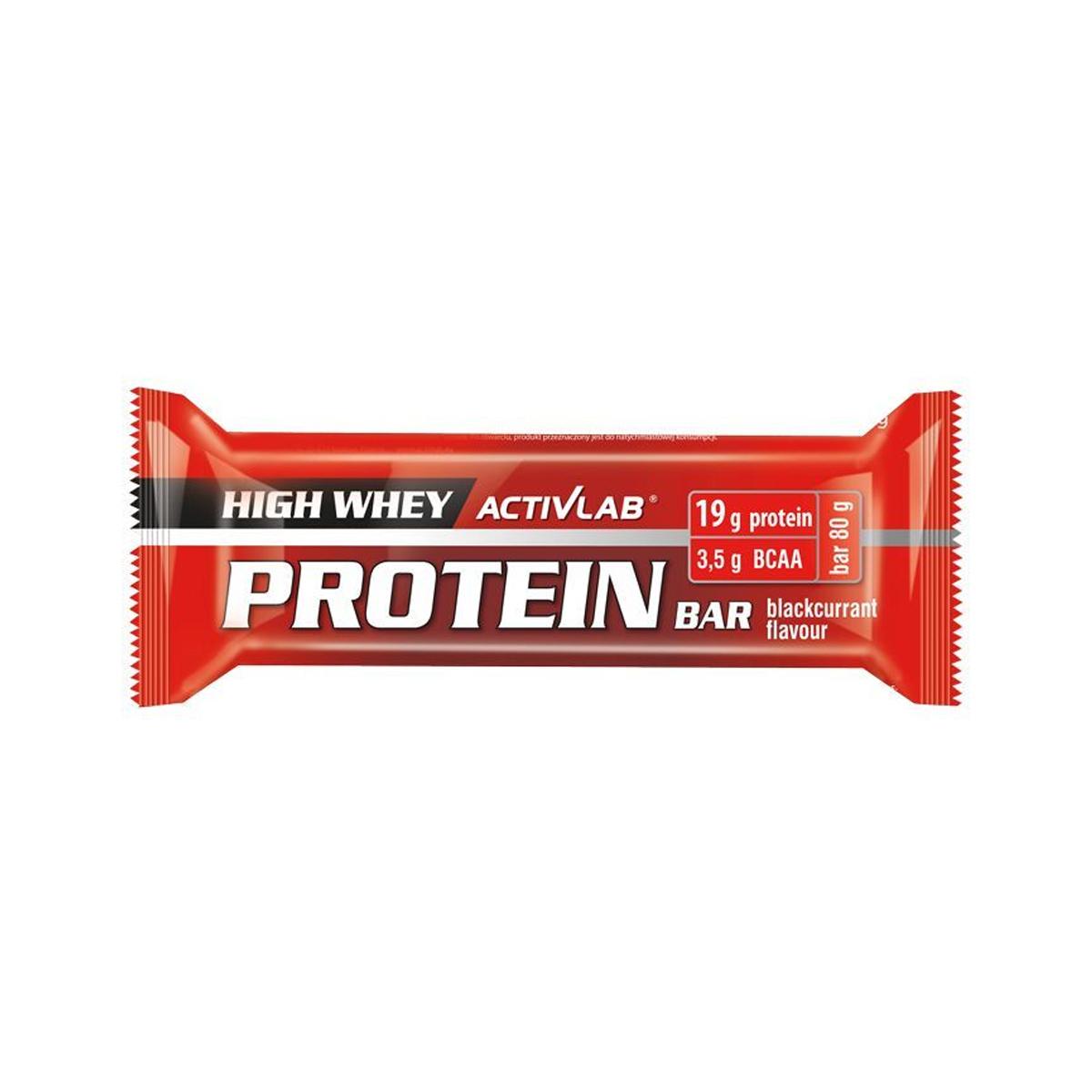 ActivLab Proteinová tyčinka 80 g černý rybíz