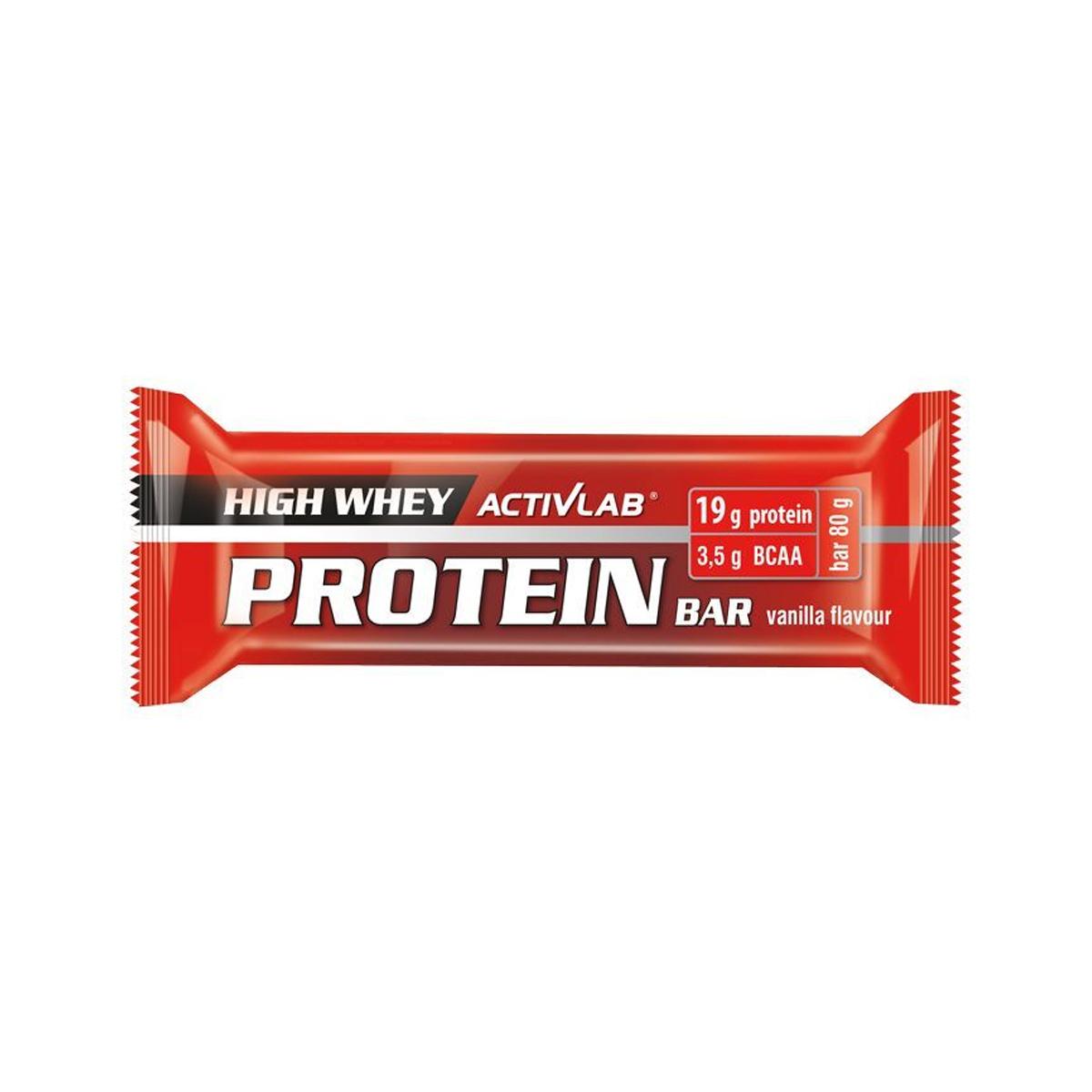 ActivLab Proteinová tyčinka 80 g vanilka