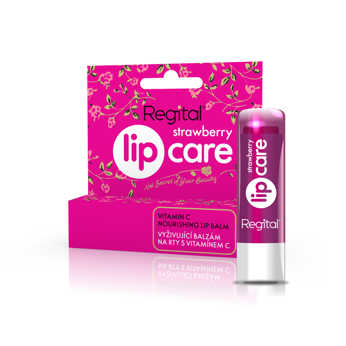 Biotter Balzám Regital Strawberry Lip Care 4,9 g