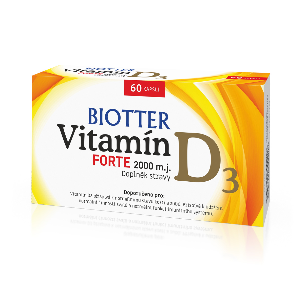 Biotter Vitamin D3 FORTE 60 cps