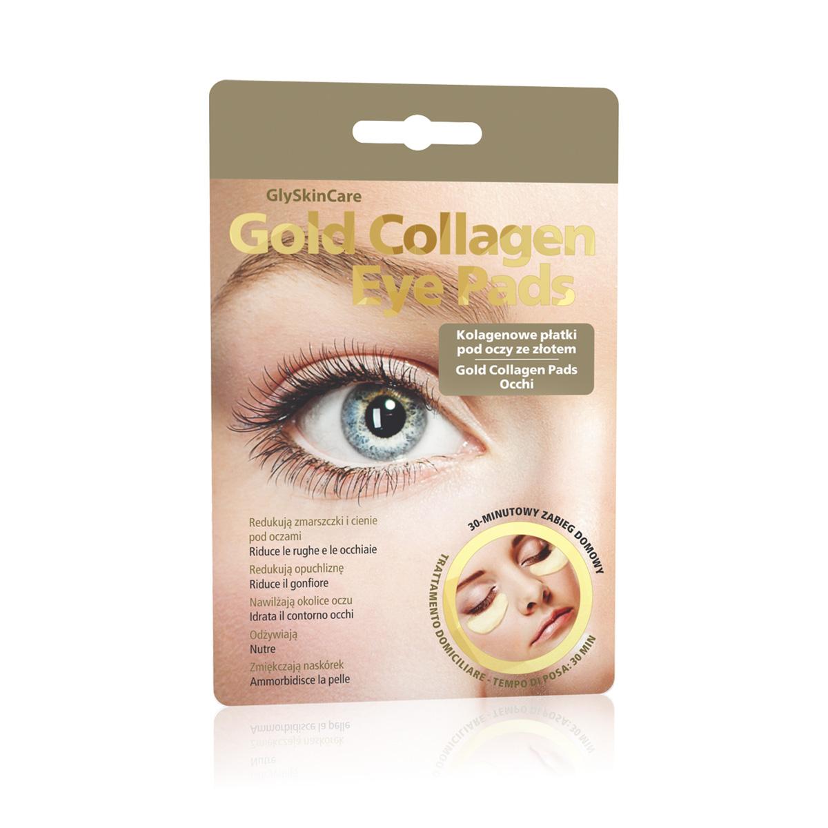 Biotter Kolagenové plátky se zlatem pod oči