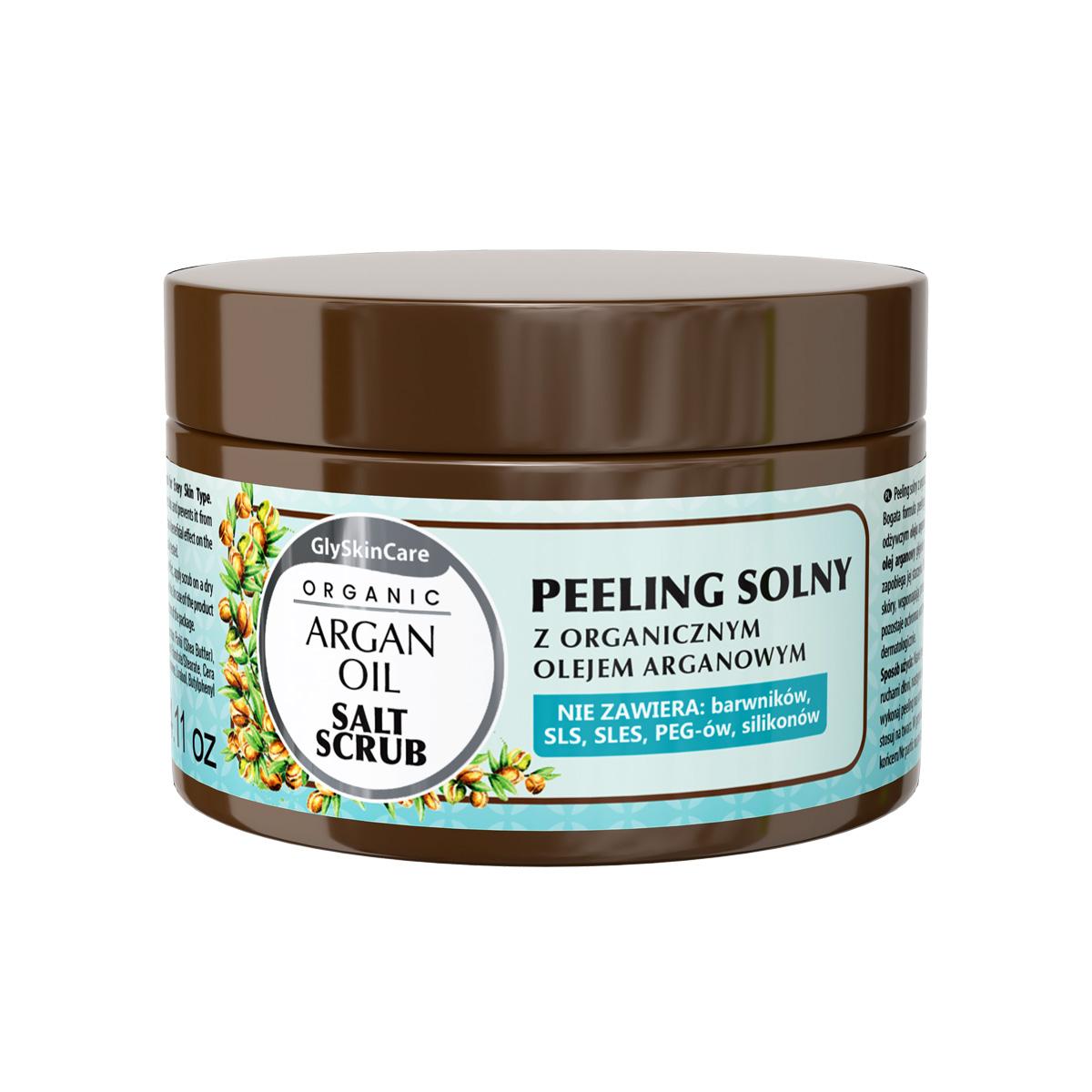 Biotter Solný peeling s organickým arganovým olejem 400 ml
