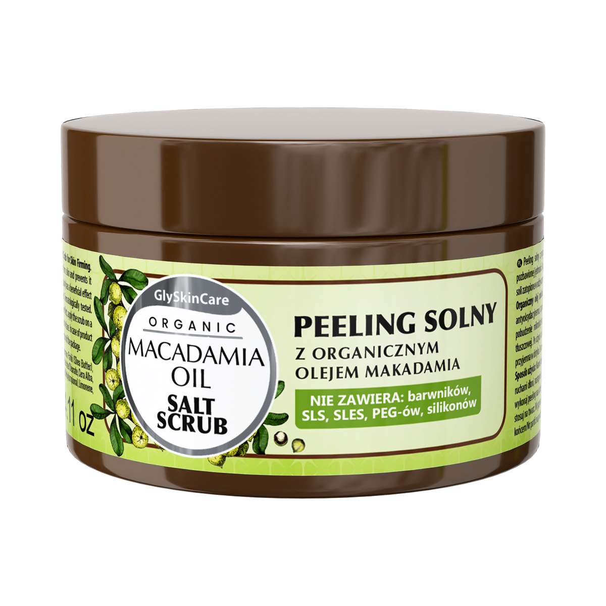 Biotter Solný peeling s organickým makadamovým olejem 400 ml