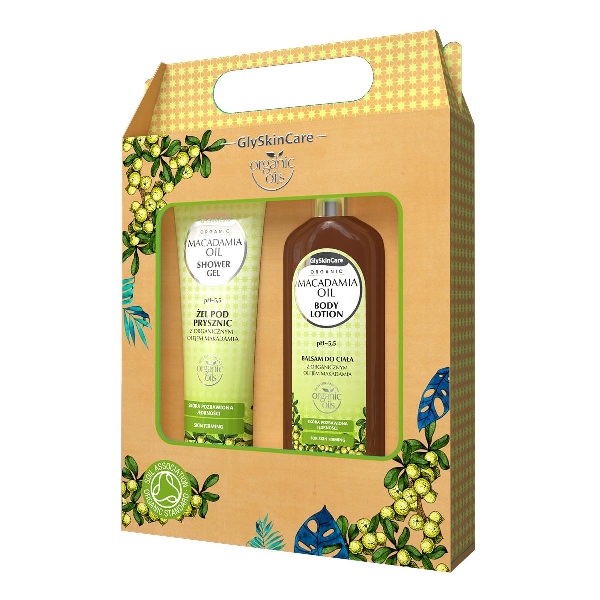 Biotter dárková sada pro každodenní péči s makadamovým olejem balzám + sprchový gel 2x250ml