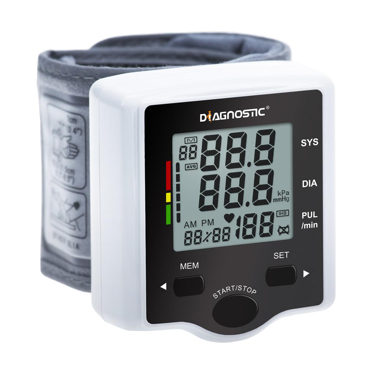 Biotter Diagnostic Tlakoměr automat na zápěstí DR-505 IHB+