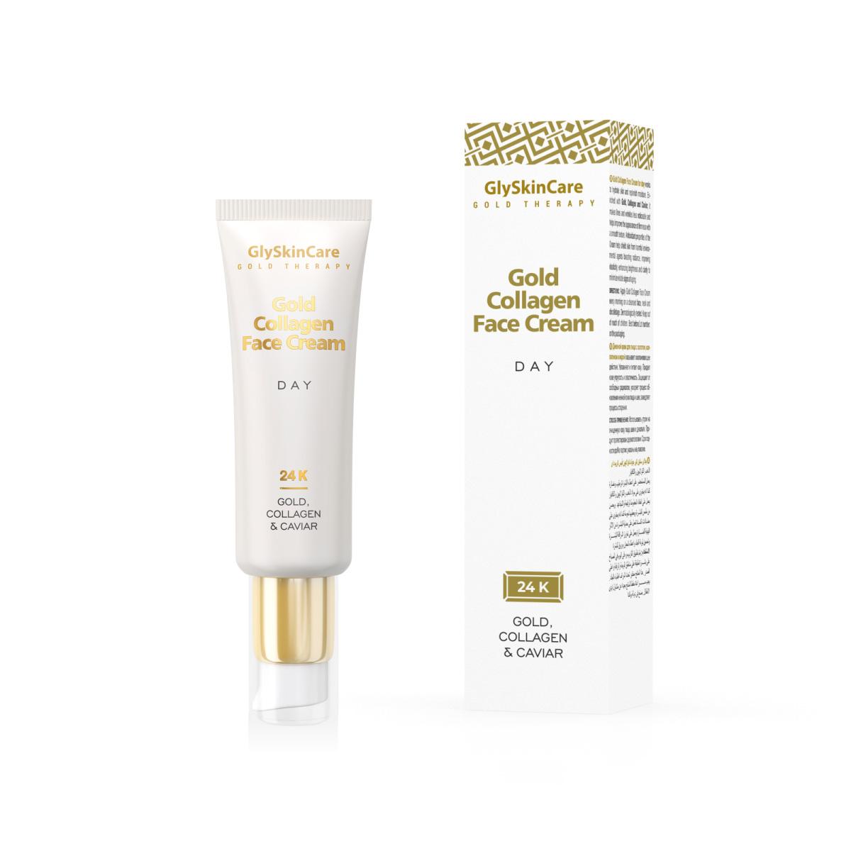 Biotter Kolagenový krém na obličej se zlatem denní 50 ml