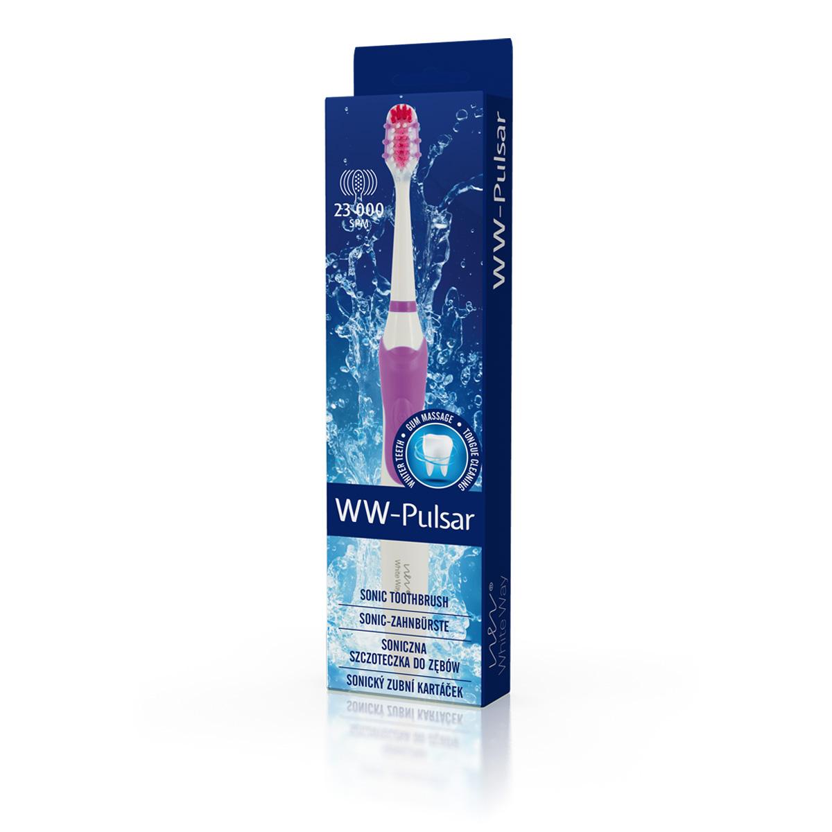 Biotter WW Pulsar sonický zubní kartáček fialový