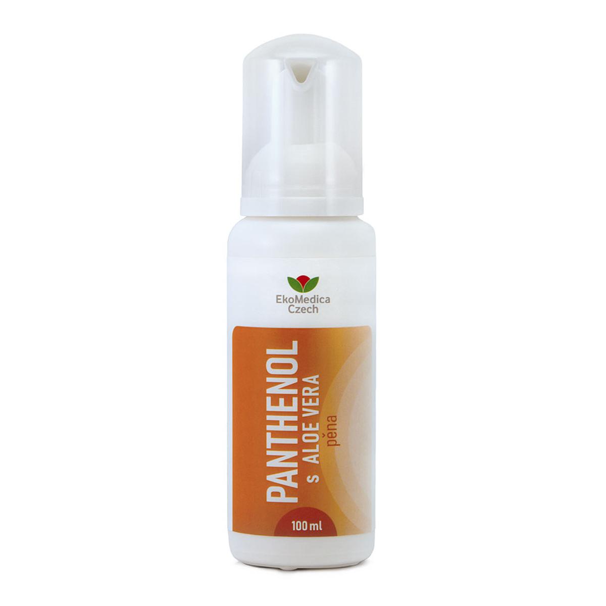 EkoMedica Panthenol s Aloe Vera pěna 100 ml