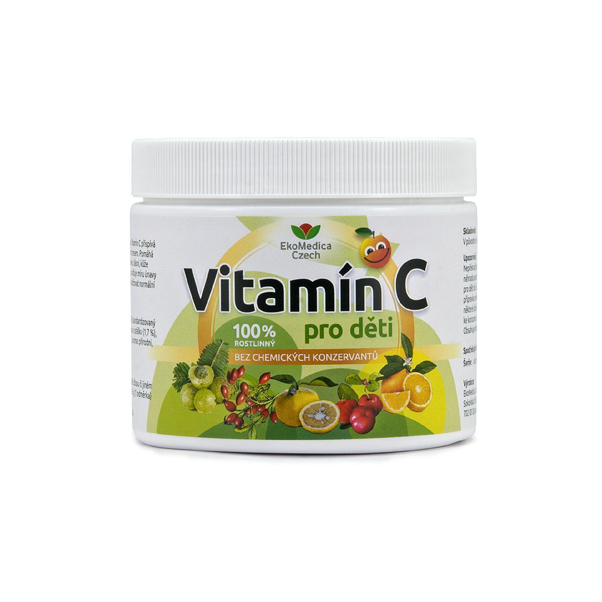 EkoMedica Vitamín C pro děti 250 g