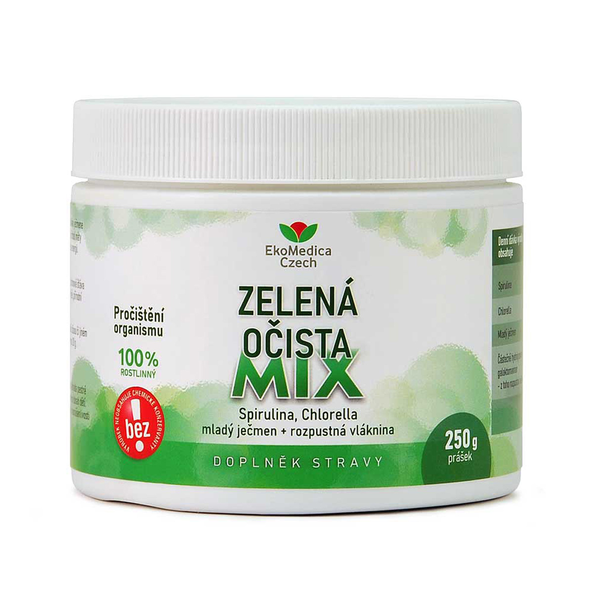 EkoMedica Zelená očista mix 250 g