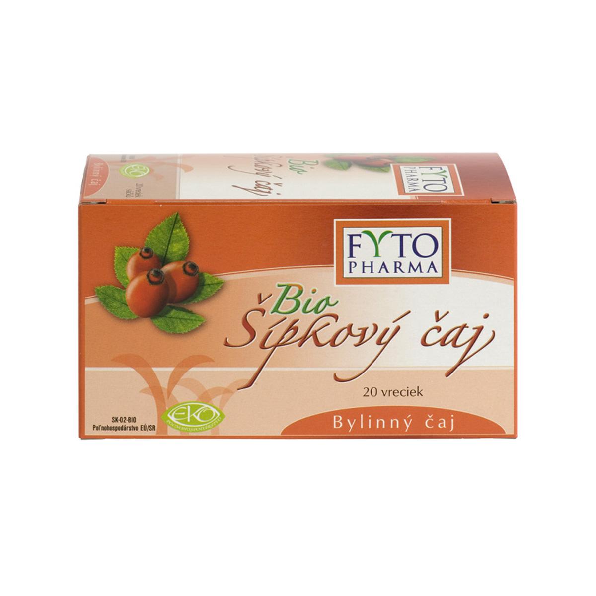 Fytopharma BIO Šípkový čaj 20 x 2 g