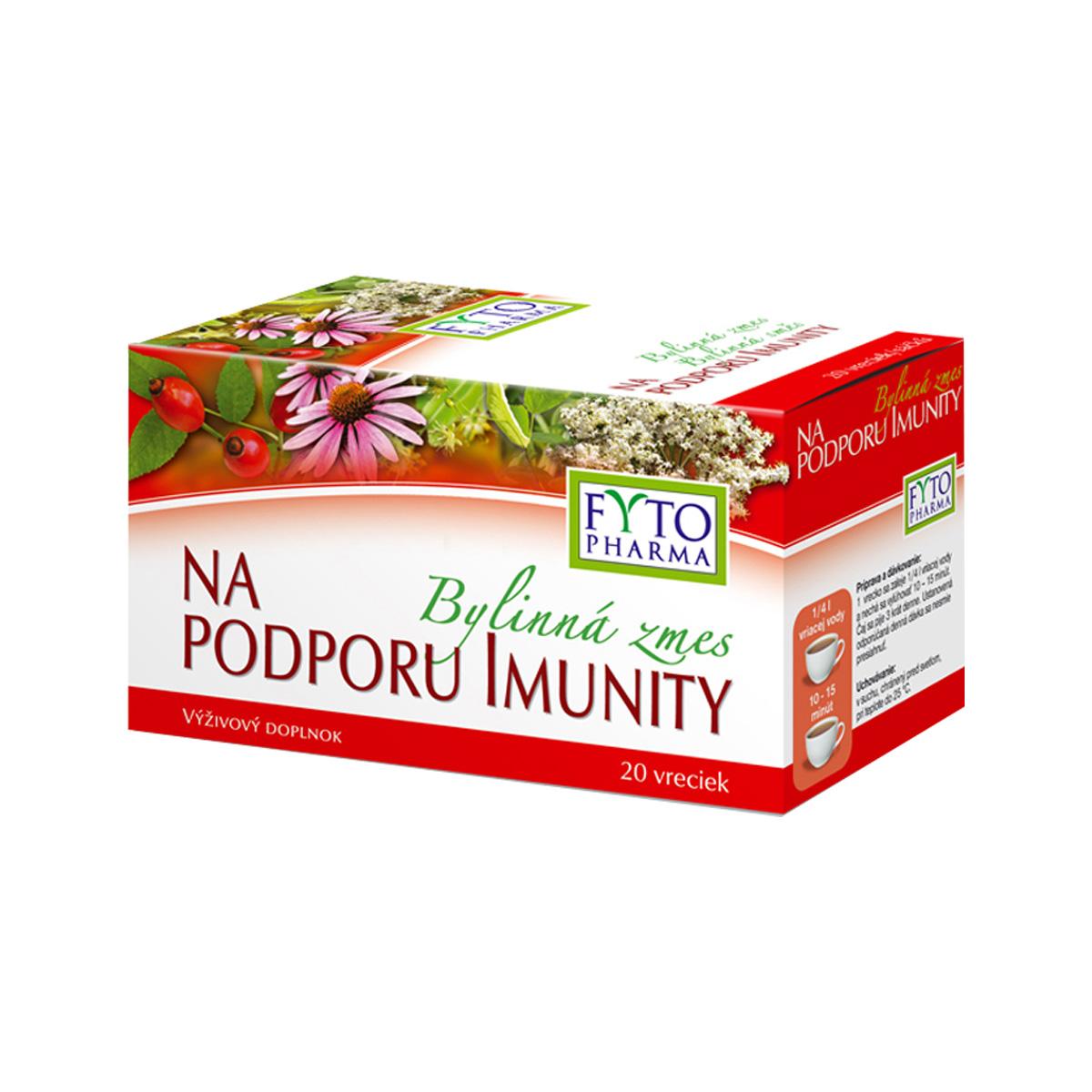 Fytopharma Bylinná směs na podporu imunity 20 x 1,5 g