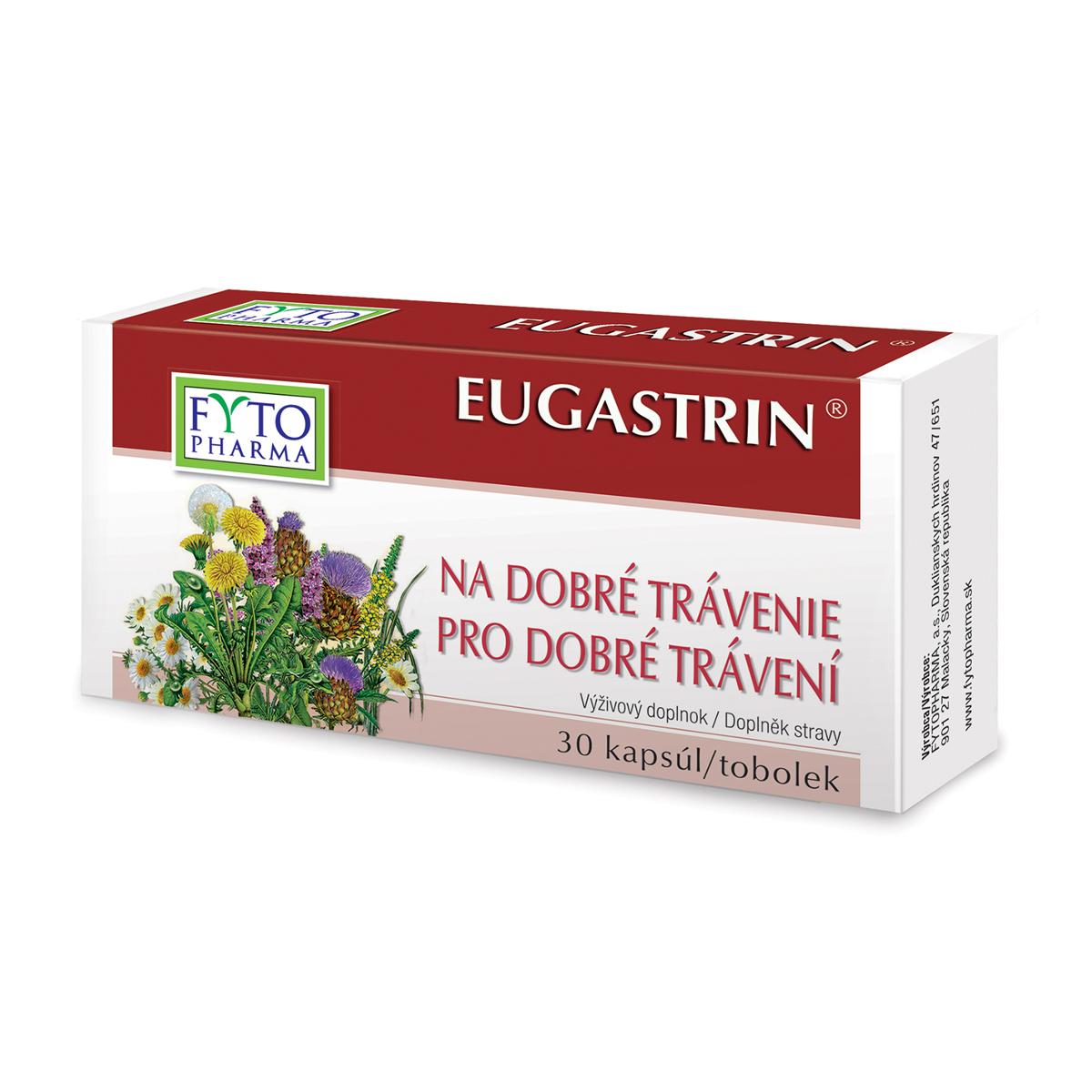 Fytopharma EUGASTRIN® tobolky na dobré trávení 30 cps