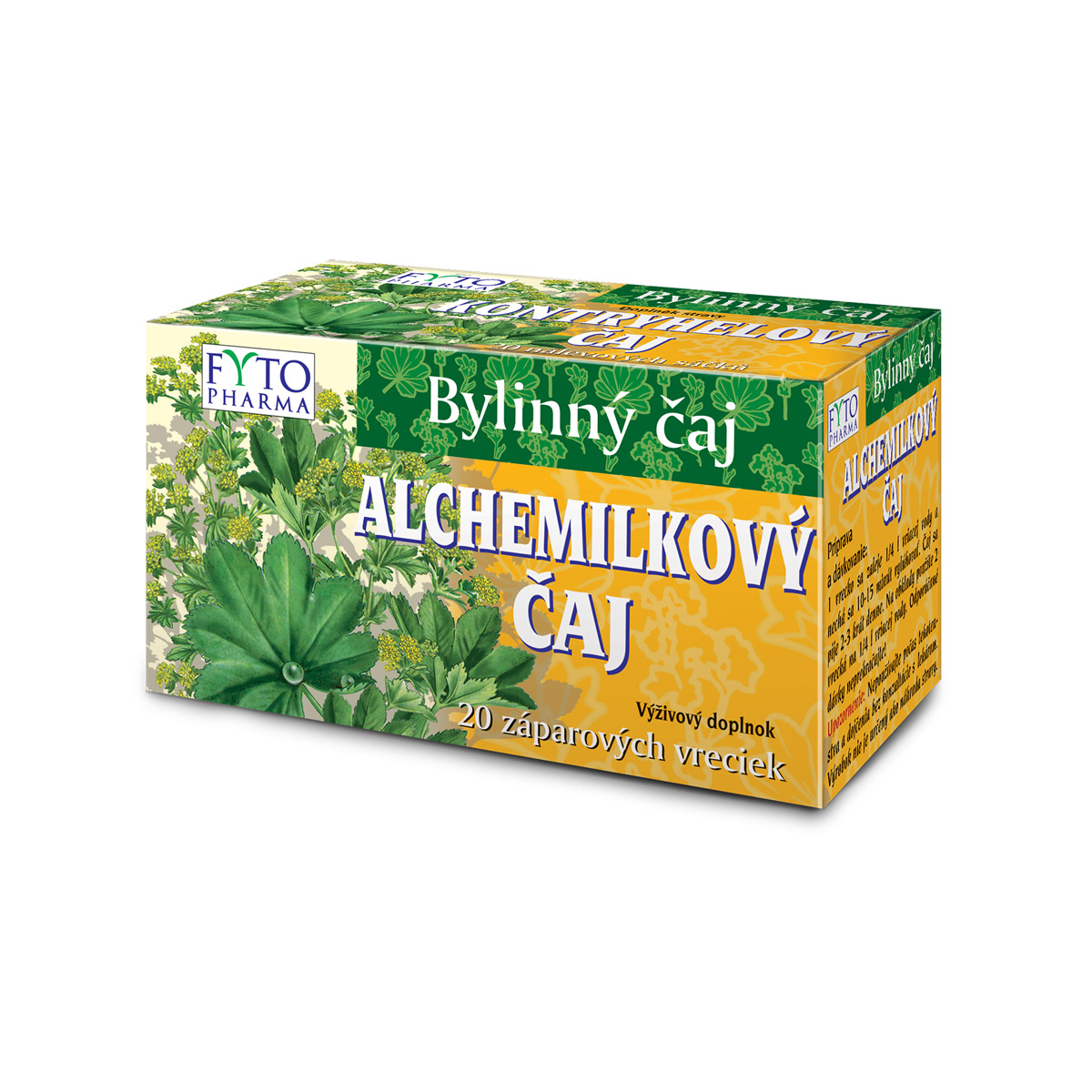 Fytopharma Kontryhelový čaj 20 x 1 g