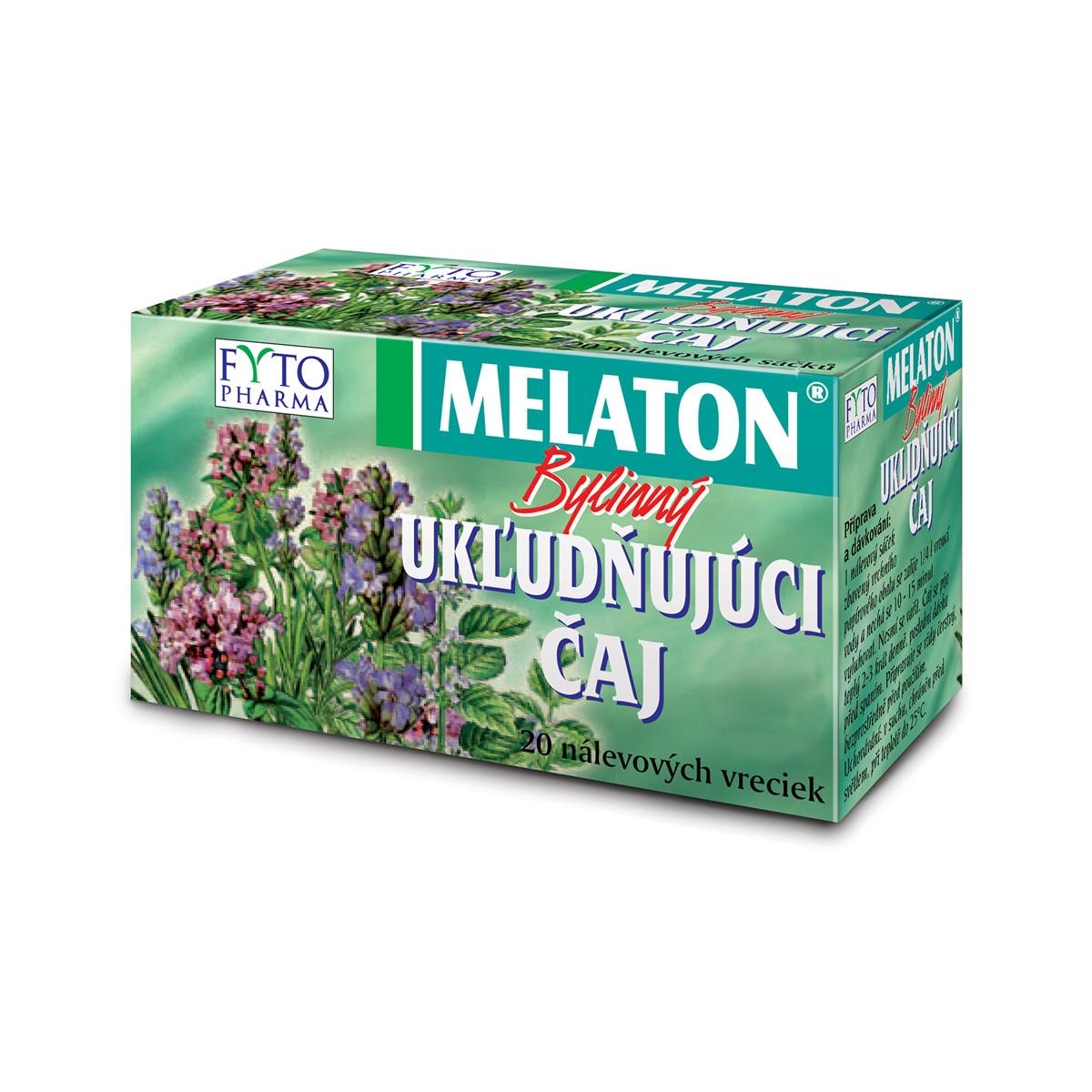 Fytopharma MELATON® bylinný uklidňující čaj 20 x 1,5 g