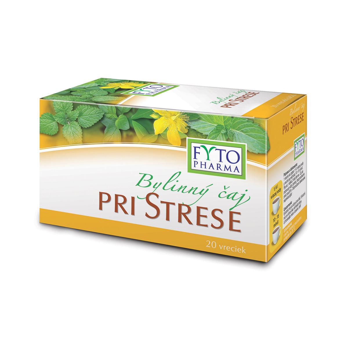 Fytopharma Bylinný čaj při stresu 20 x 1 g