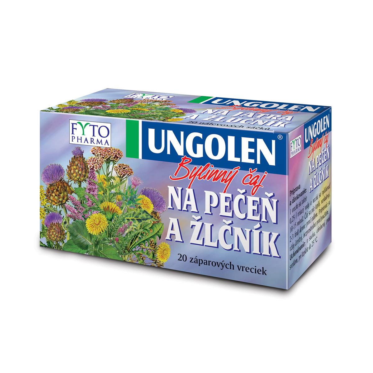 Fytopharma UNGOLEN® bylinný čaj na játra a žlučník 20 x 1,5 g