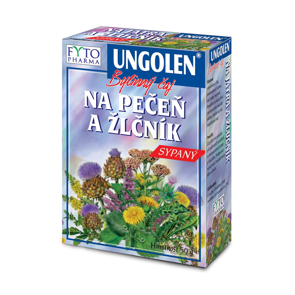 Fytopharma UNGOLEN® bylinný čaj na játra a žlučník 50 g