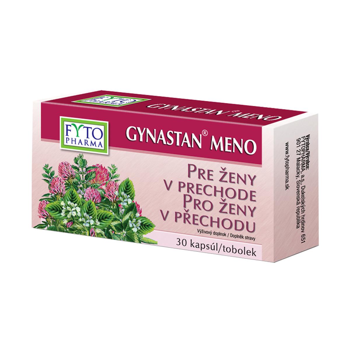Fytopharma GYNASTAN® MENO tobolky při menopauze 30 cps