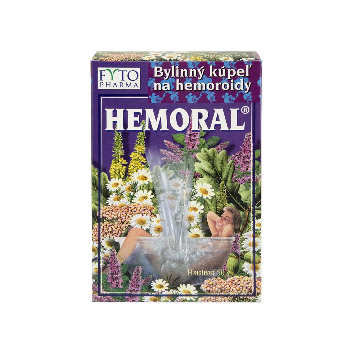 Fytopharma HEMORAL® bylinná koupel na hemoroidy 50 g