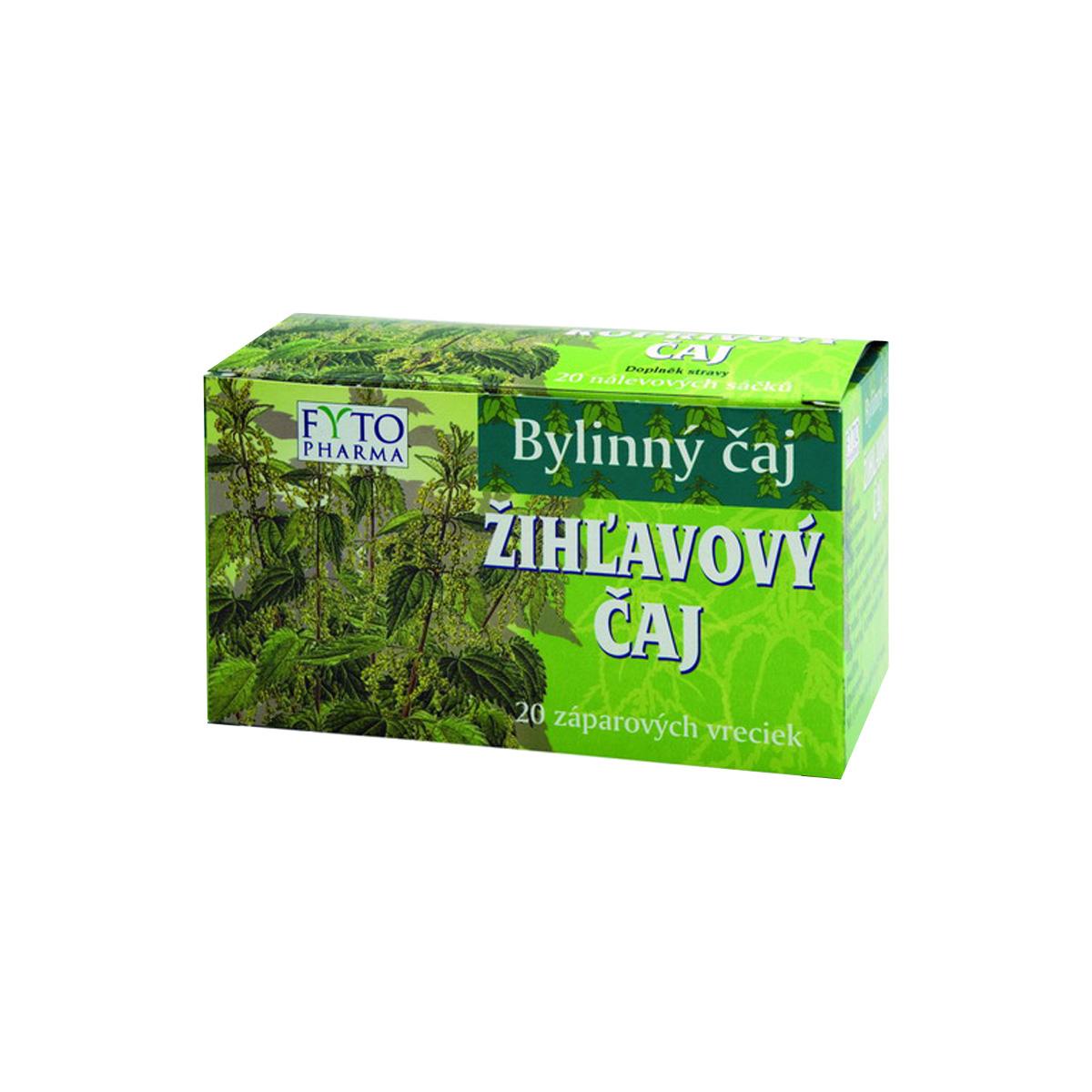 Fytopharma Kopřivový čaj 20 x 1 g