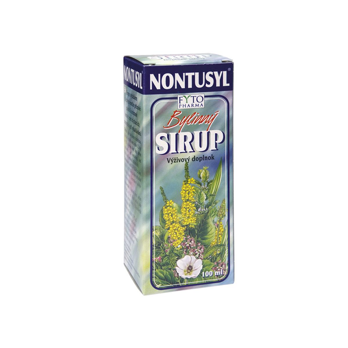 Fytopharma NONTUSYL® Bylinný sirup 100 ml