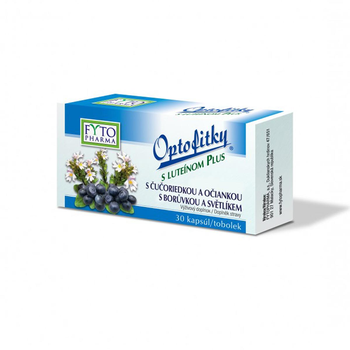 Fytopharma Optofitky s luteinem Plus 30 cps