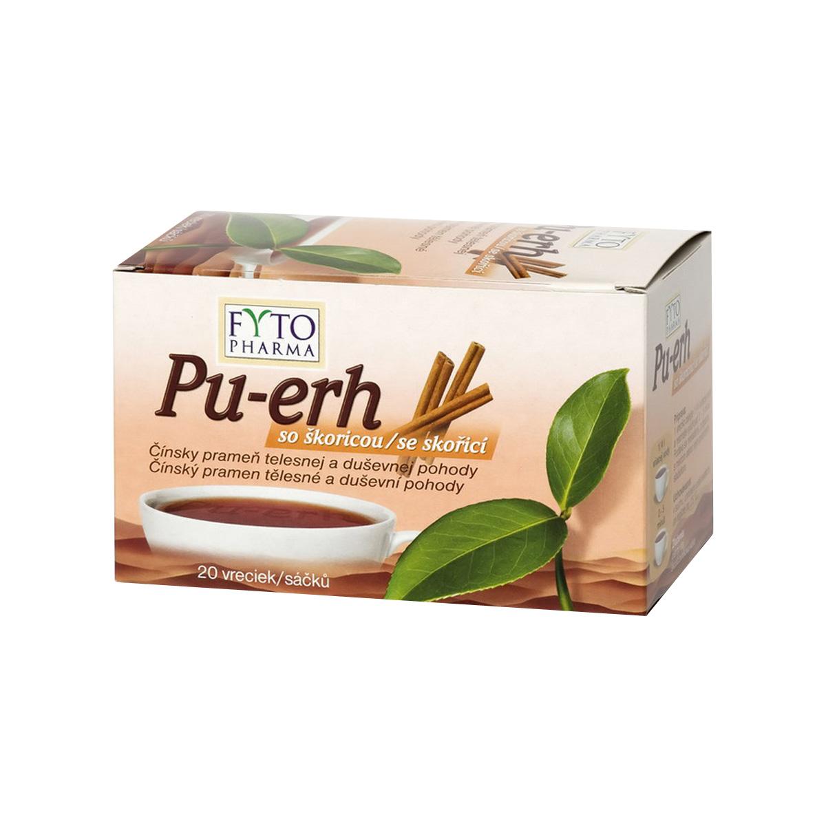 Fytopharma Pu-erh se skořicí 20 x 1,5 g