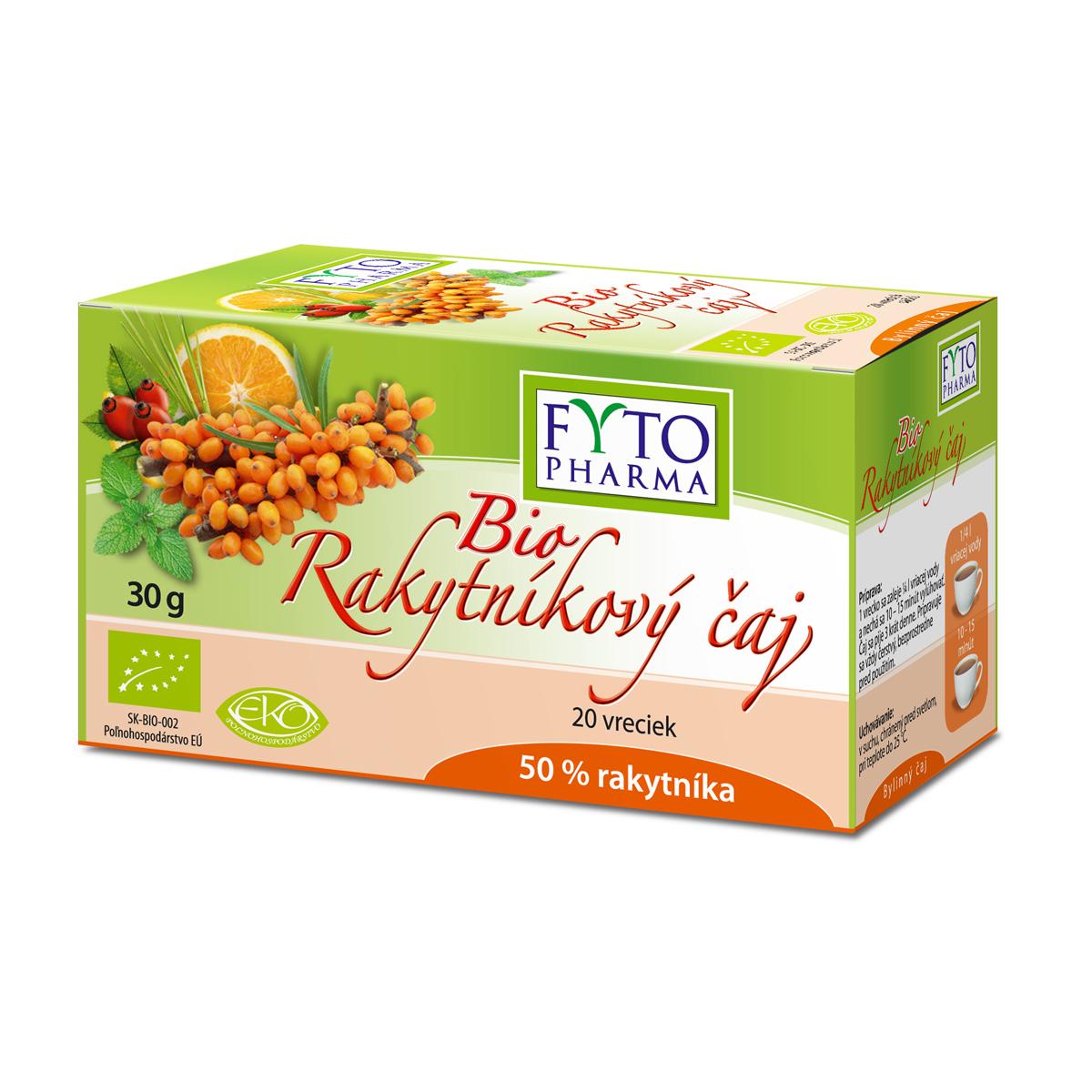 Fytopharma BIO Rakytníkový čaj 20 x 1,5 g