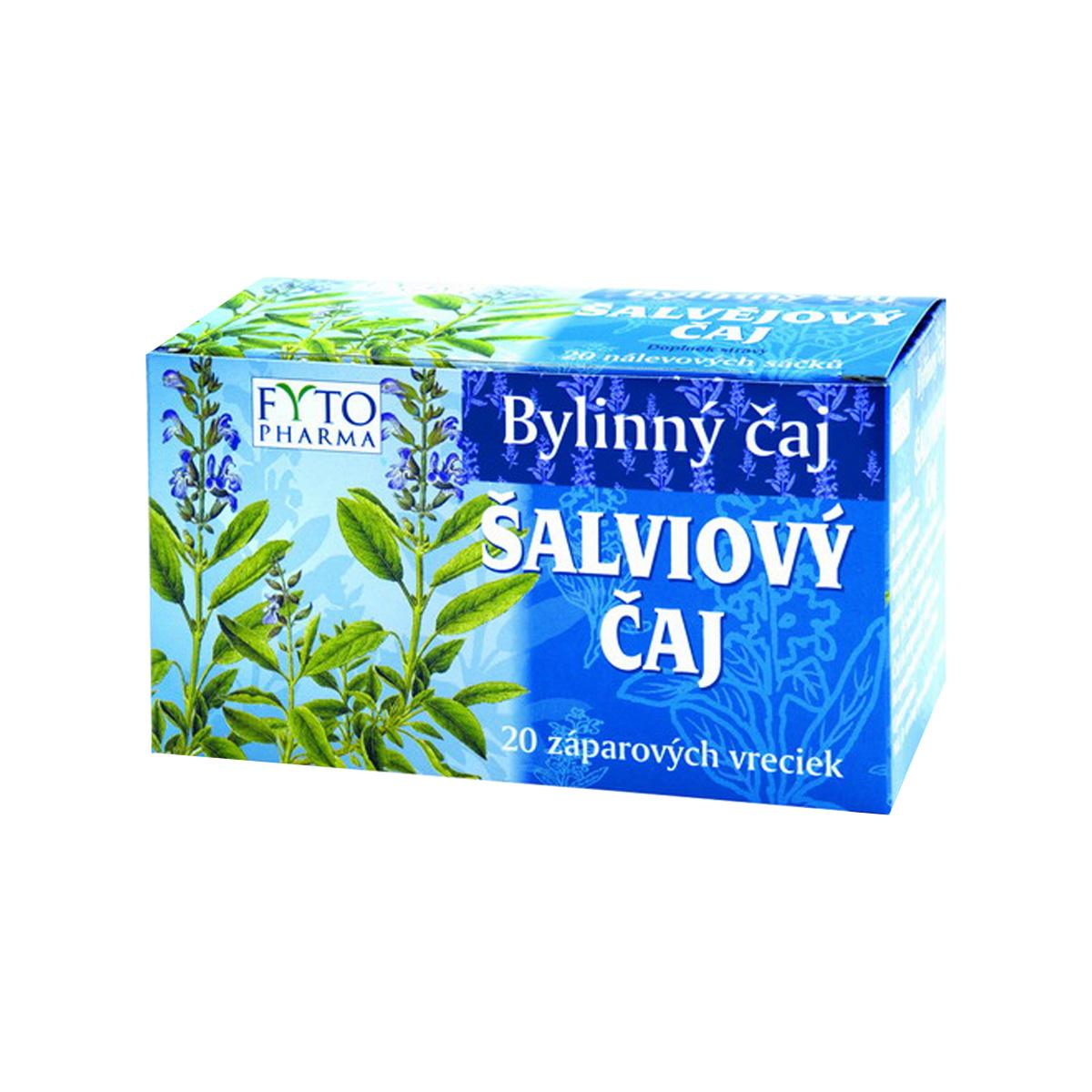 Fytopharma Šalvějový čaj 20 x 1 g