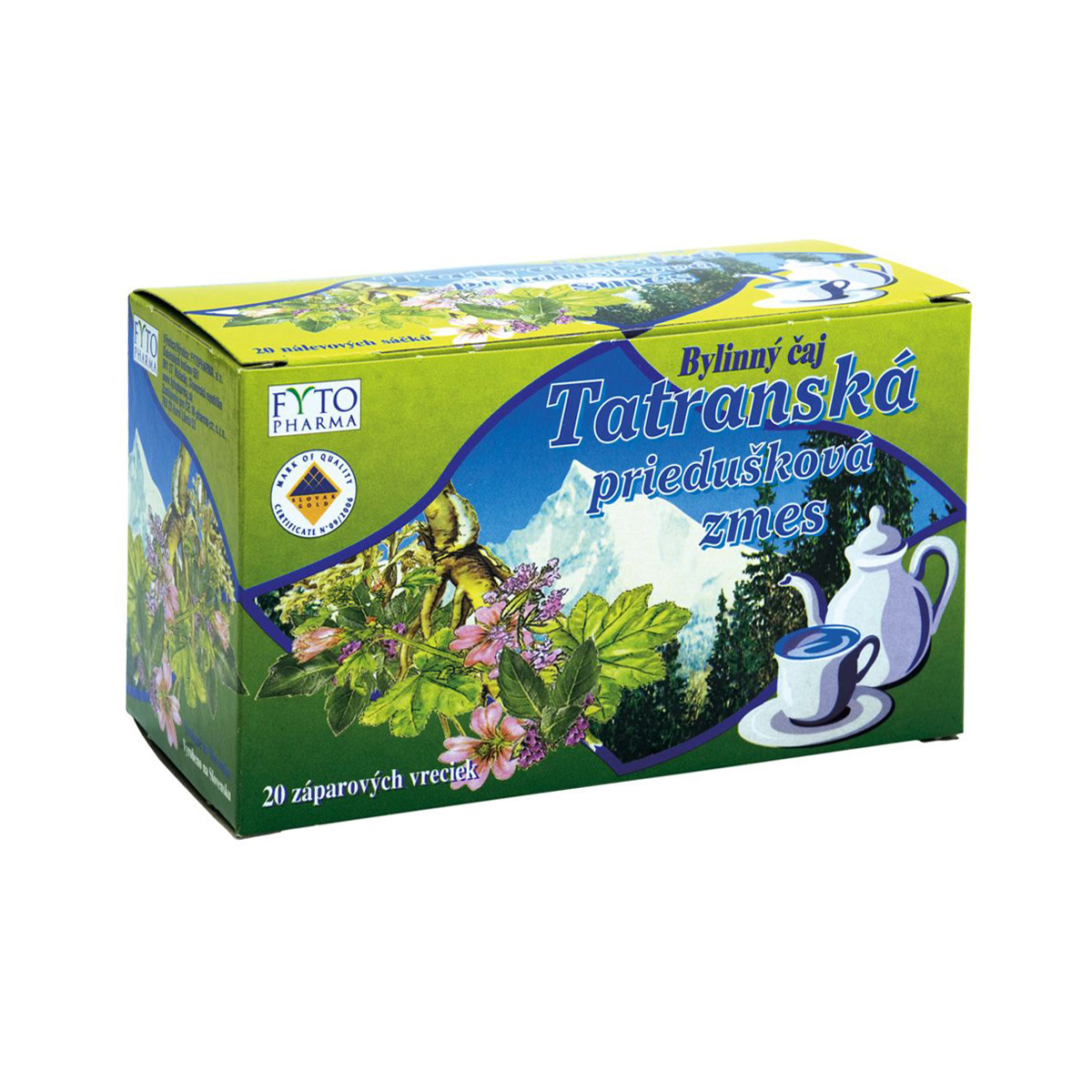Fytopharma Tatranská průdušková směs® 20 x 1 g