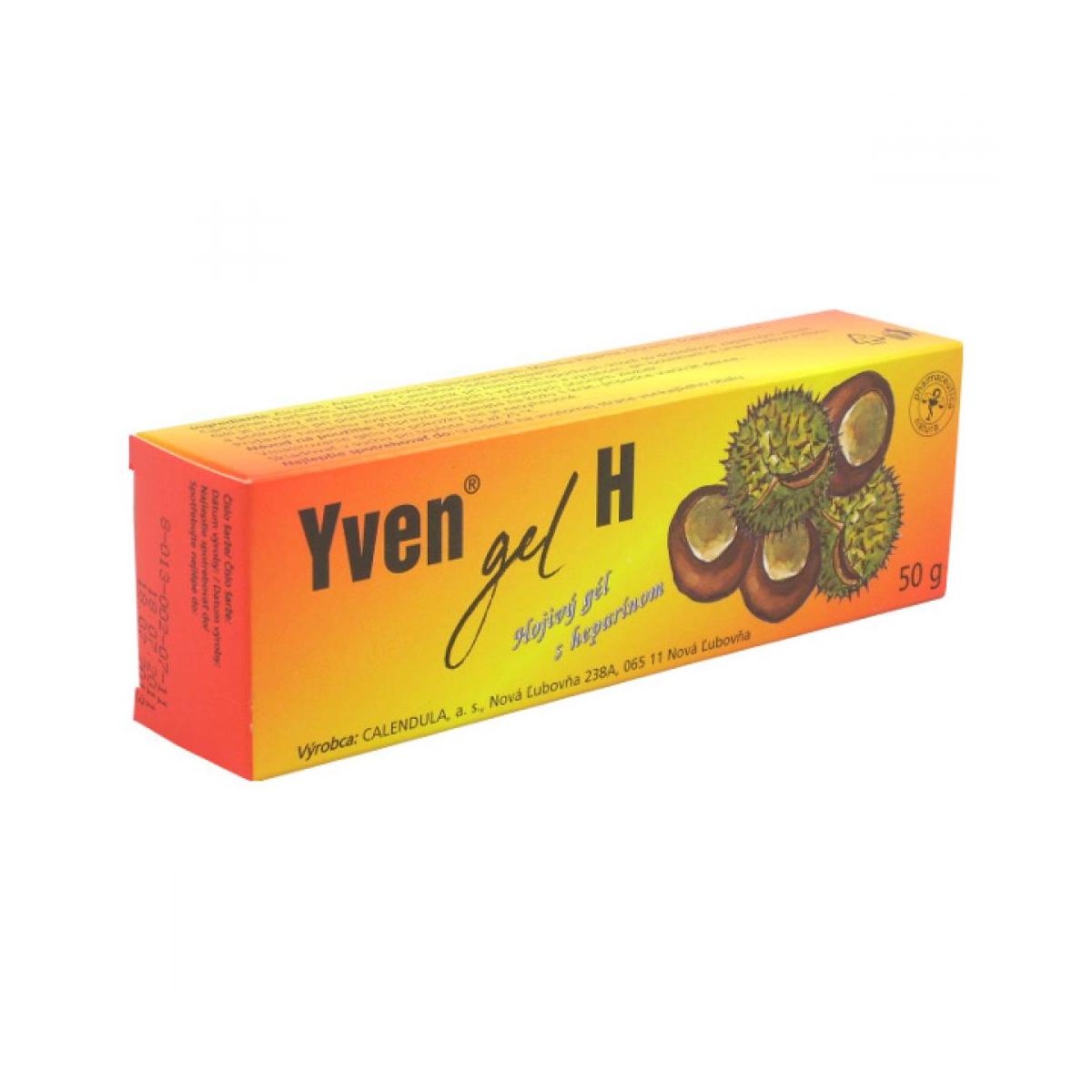 Fytopharma Yven® gel H hojivý gel s heparinem 50 g