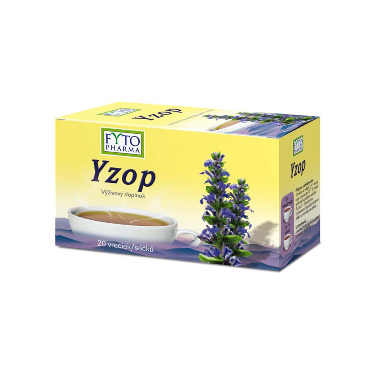 Fytopharma Yzop 20 x 1,5 g