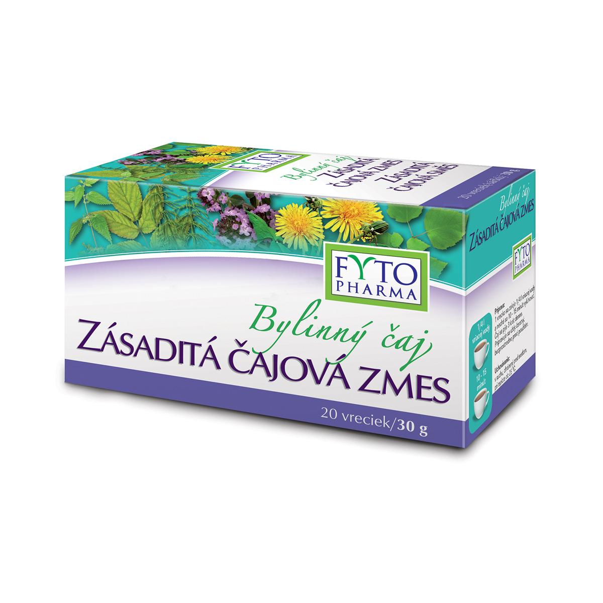 Fytopharma Bylinný čaj Zásaditá čajová směs 20 x 1,5 g