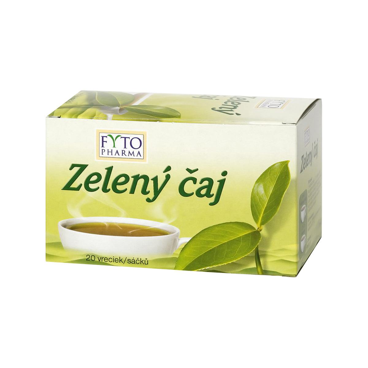 Fytopharma Zelený čaj 20 x 1,5 g