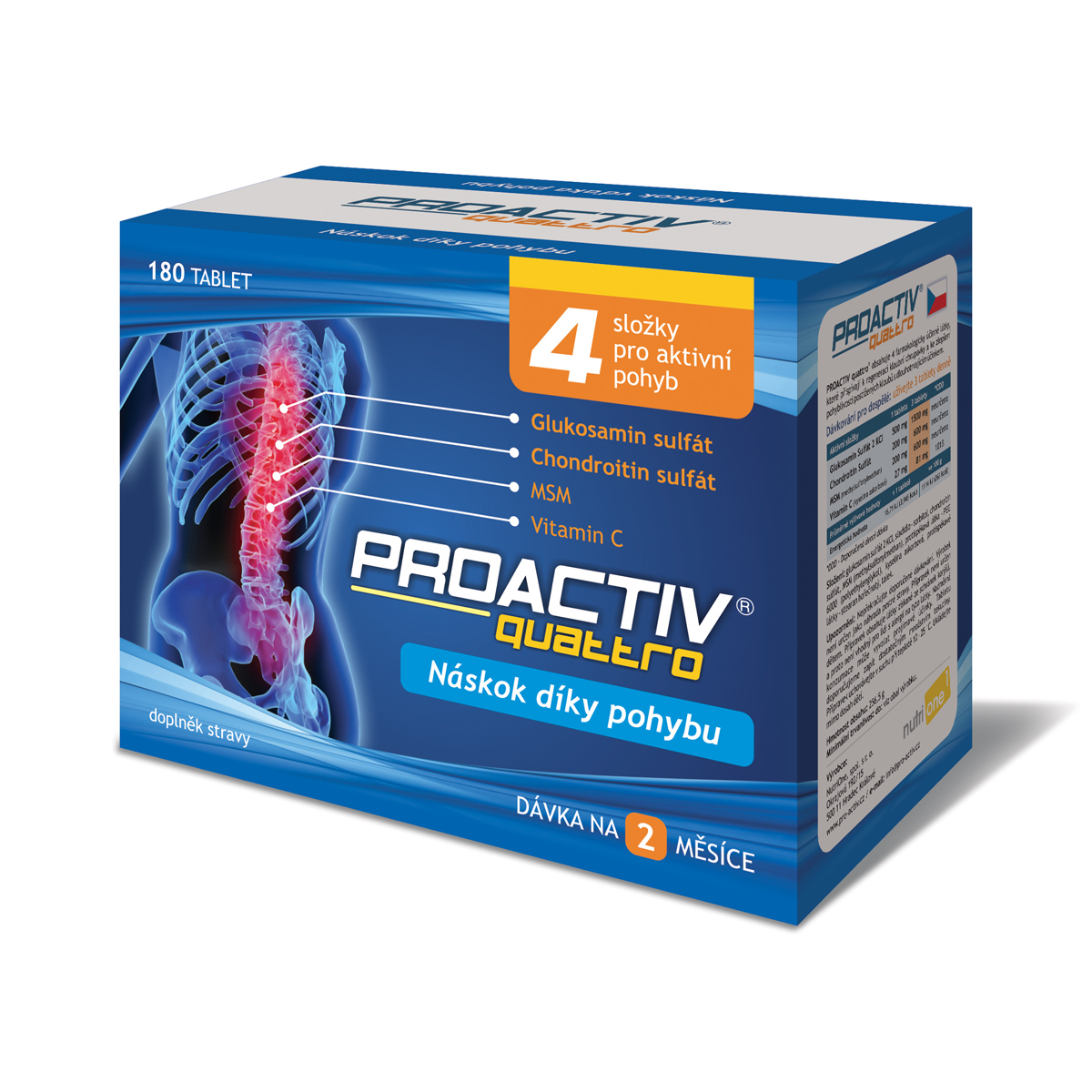 G-Marck ProActiv quattro 180 cps