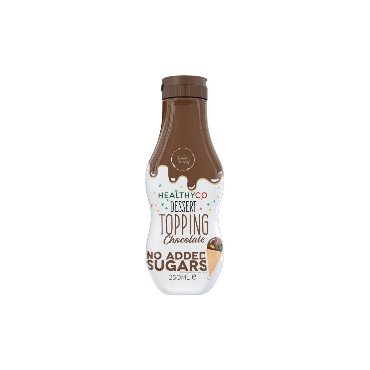 HealthyCo Topping čokoláda 250 ml