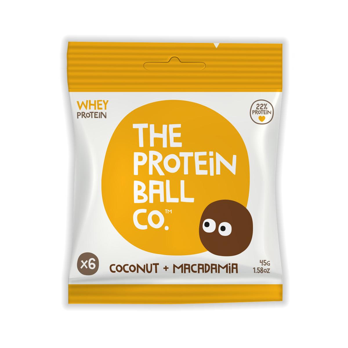 Unit 2 & 3 Protein Ball co Proteinové kuličky kokos makadam 45 g