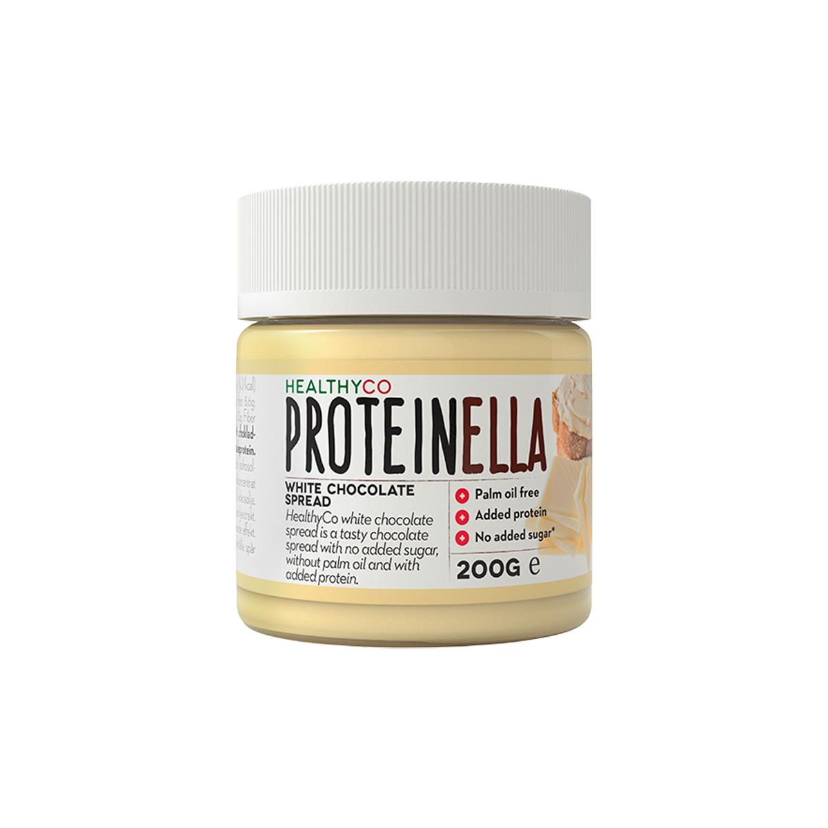 HealthyCo Proteinella 200 g bílá čokoláda