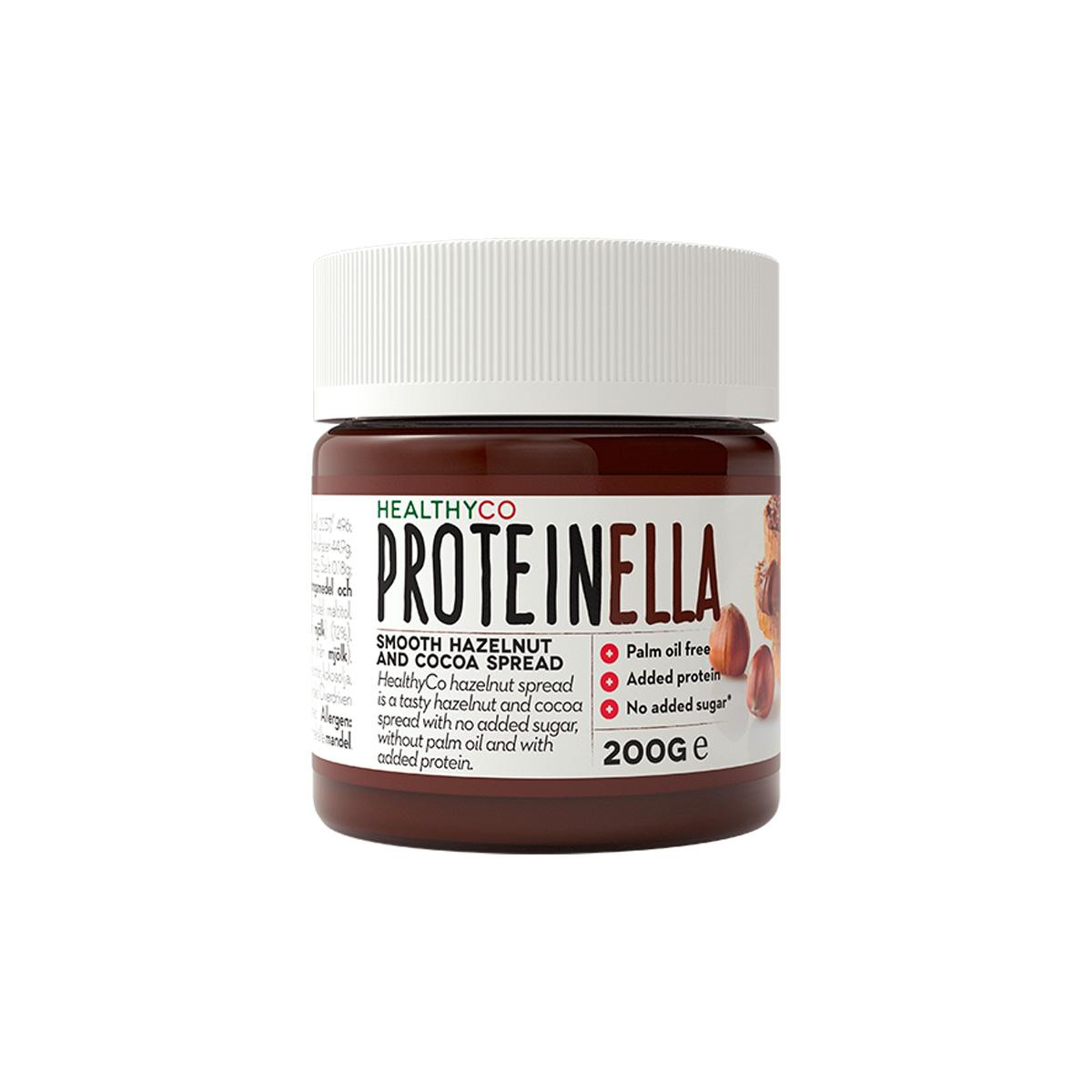 HealthyCo Proteinella 200 g lískový ořech / čokoláda