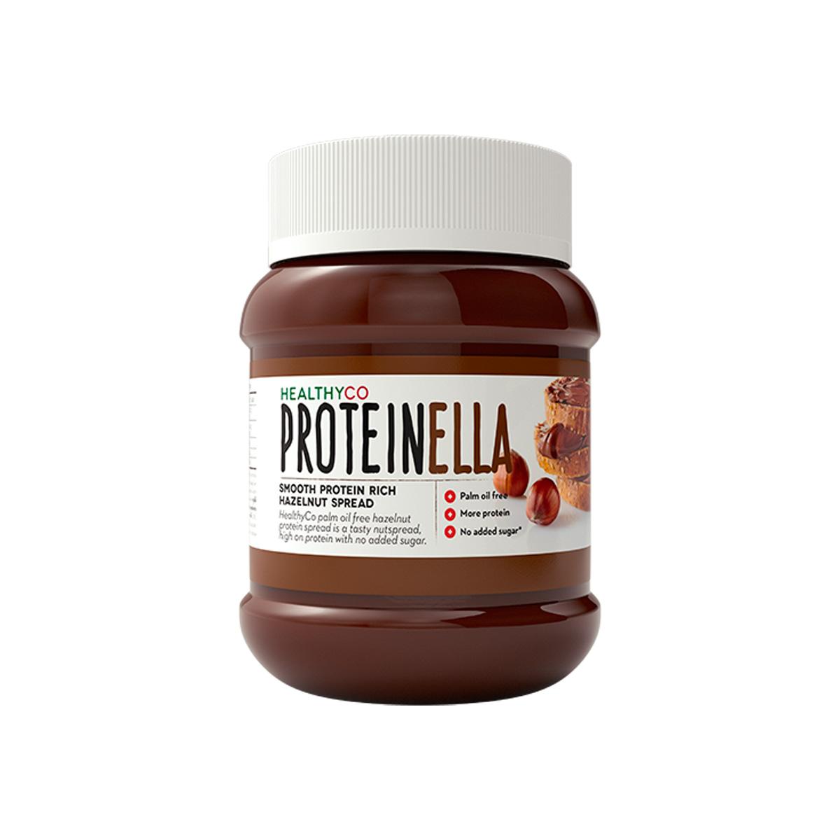 HealthyCo Proteinella 400 g lískový ořech / čokoláda