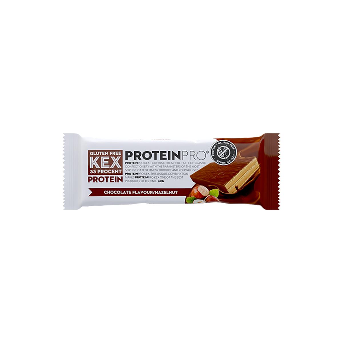 FCB ProteinPRO Kex čokoláda oříšek 40 g