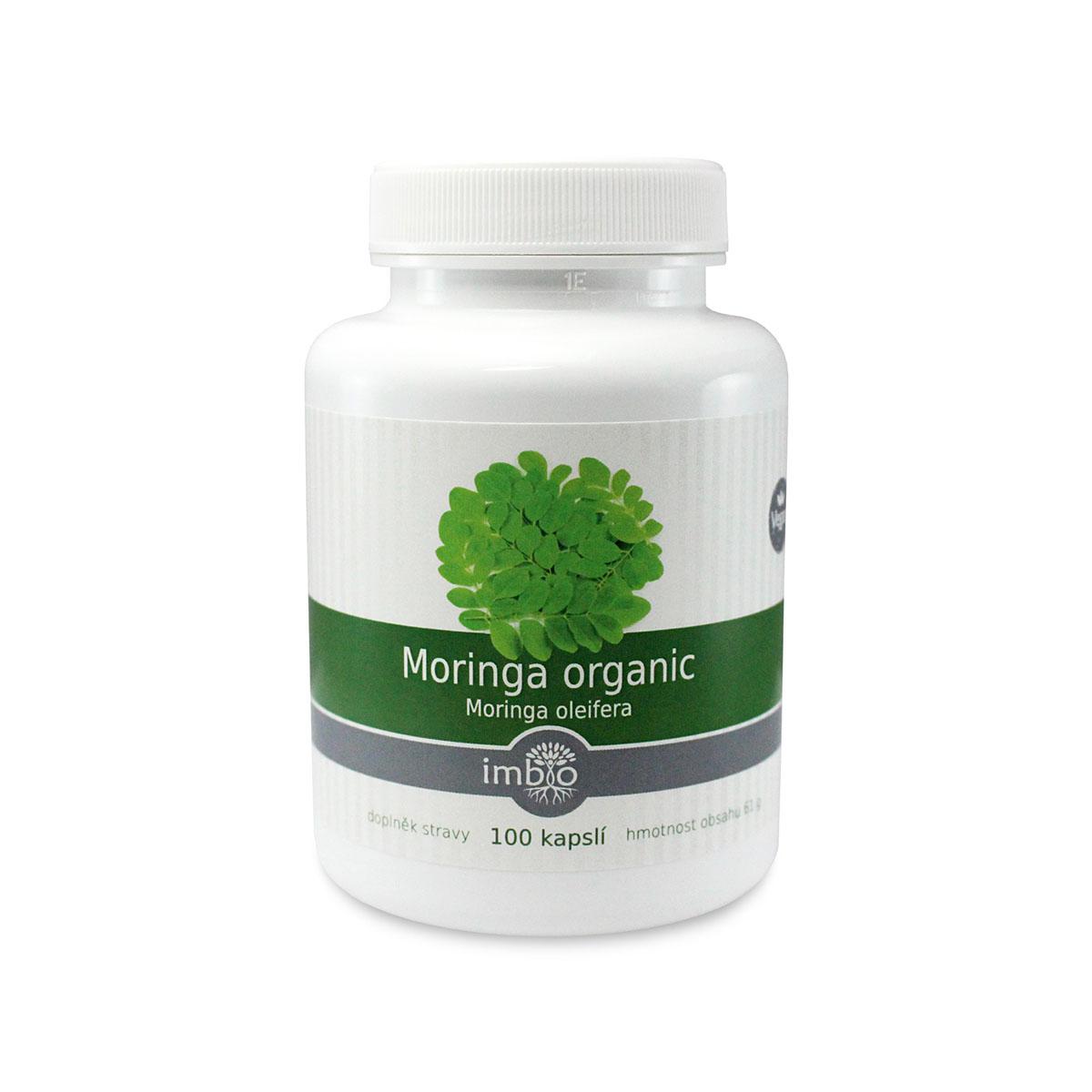 imbio Moringa organic 100 cps