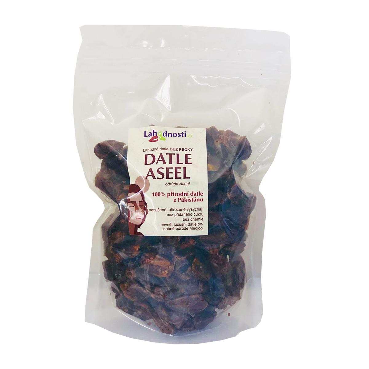 Lahodnosti Datle Aseel vypeckované 1 kg