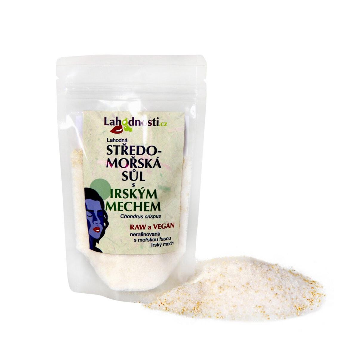 Lahodnosti Středomořská sůl s Irským mechem 200 g