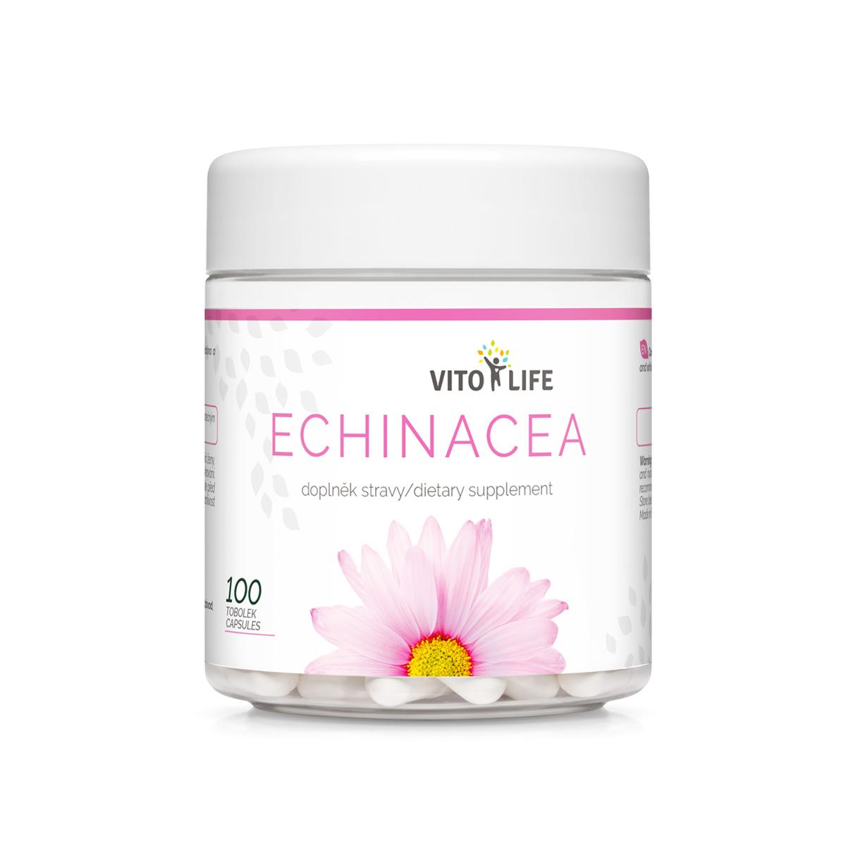 Vito Life Echinacea 400 mg 100 cps