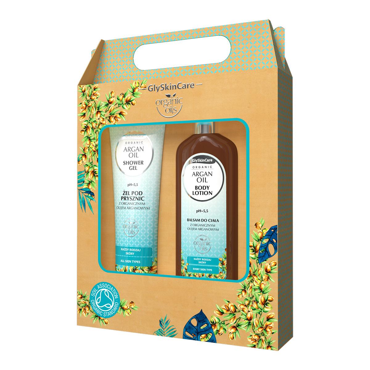 Biotter dárková sada pro každodenní péči s arganovým olejem balzám + sprchový gel 2x250ml